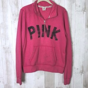 Victoria's Secret PINK Quarter Zip Sweatshirt